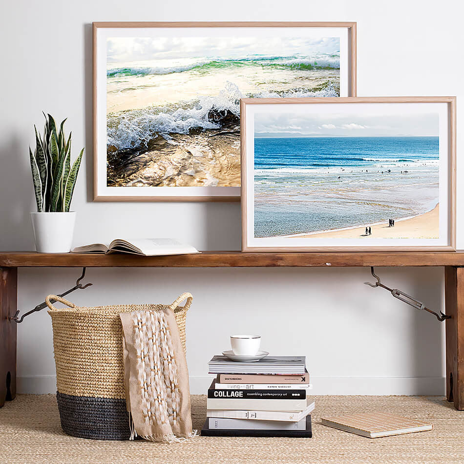coastal home interior beach interior beach print photographic beach print  photography byron bay the pass byron bay wategos beach coastal art beach print coastal print