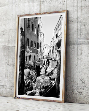 venice photography art print photo of venice gondola black and white interior venice gondola art print photographic print of venice black and white interior artwork monochrome interior