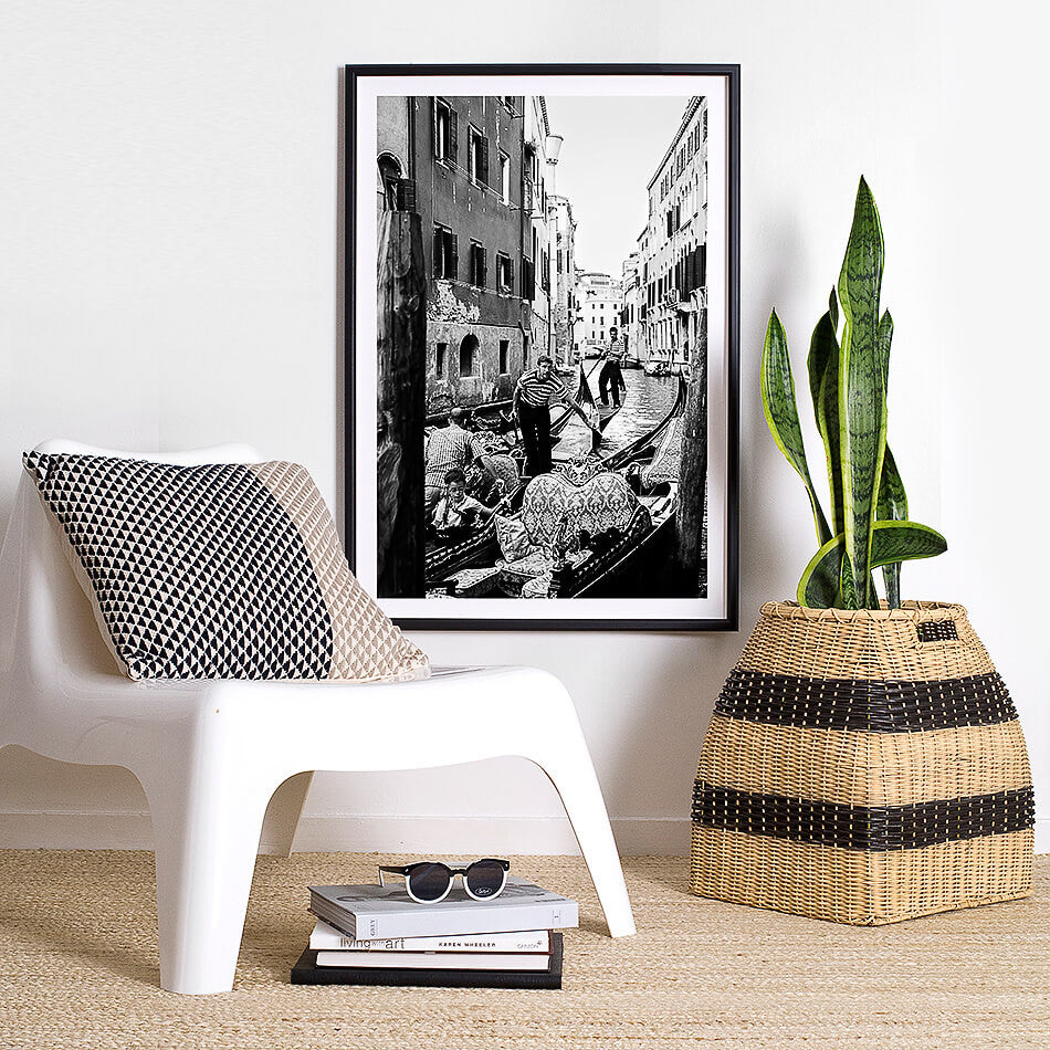 monochrome home interior venice art print venice photography venice photography art print photo of venice gondola black and white interior venice gondola art print photographic print of venice black and white interior artwork monochrome interior