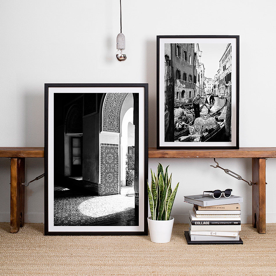 black and white interior monochrome interior moroccan decor moroccan interior black and white interior venice photography art print photo of venice gondola black and white interior venice gondola art print photographic print of venice black and white interior artwork monochrome interior