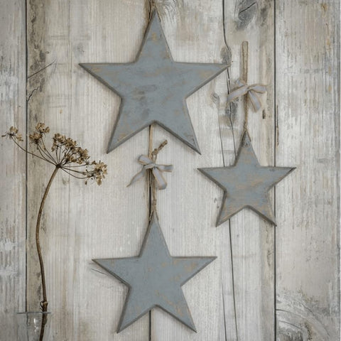 Vintage set of hanging stars - Home Bee