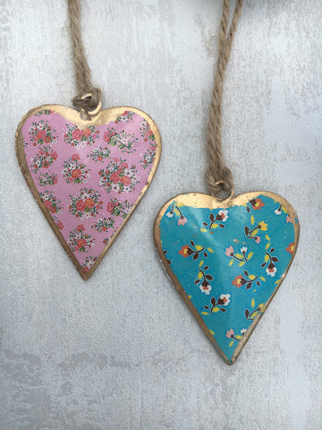 Mini hanging hearts - Home Bee