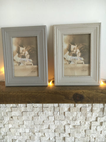Neutral photo frames - Home Bee
