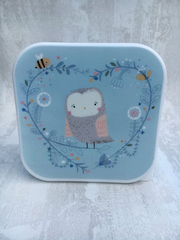 Owl lunch box/storage container - Home Bee