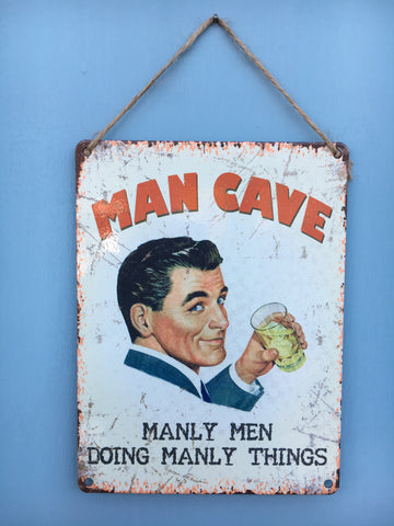 Man cave hanging plaque - Home Bee