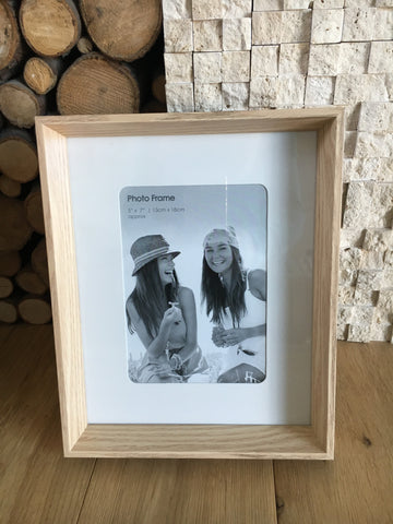Natural wood picture frame - Home Bee