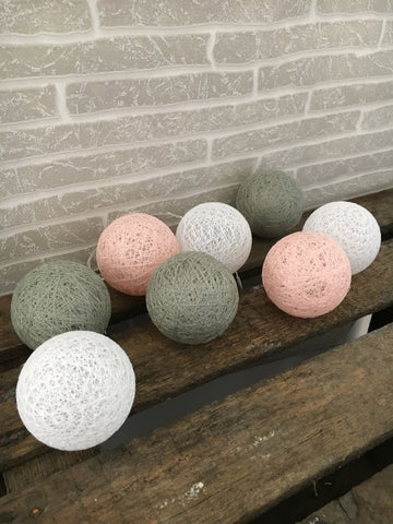 Lace ball lights - Home Bee