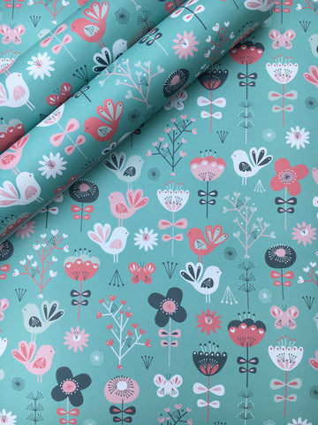 20% OFF Bird wrapping paper was £1.50 - Home Bee