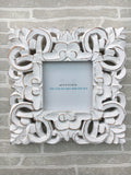 Persian carved square picture frame - Home Bee