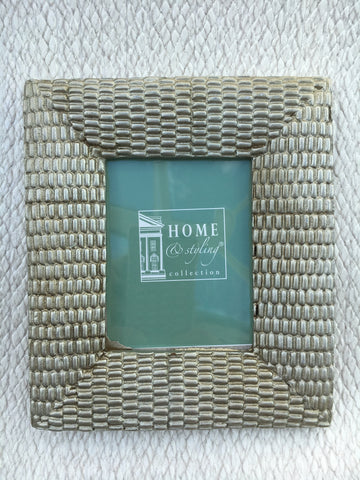 Mini textured picture frame
