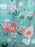 20% OFF Birds gift tags was £2.50 - Home Bee