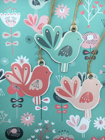 20% OFF Birds gift tags was £2.50