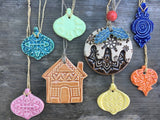 Ceramic lucky dip baubles - Home Bee
