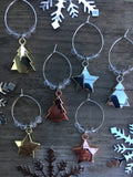 Christmas wine charms - Home Bee