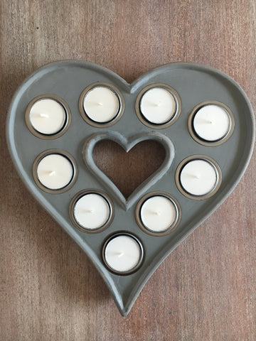 Tea light heart - Home Bee