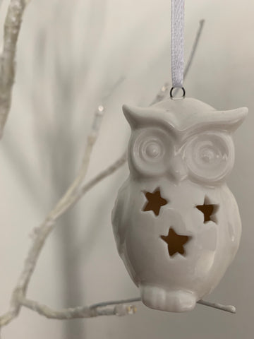 Owl tree decoration - Home Bee