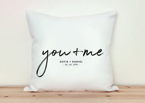Partnerkissen | You + Me