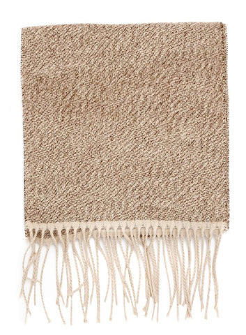 Camel Marl Woven Scarf
