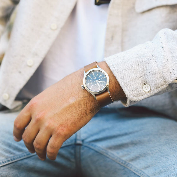 Horween Leather Timex Watch