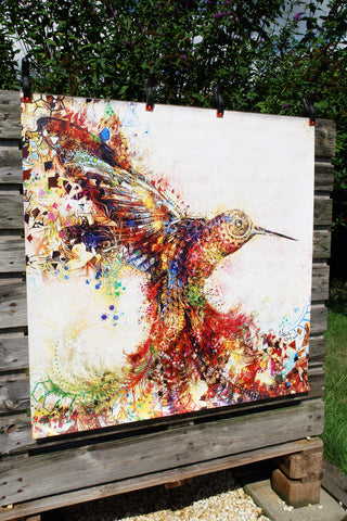Hummingbird of Paradise - PVC Canvas Print