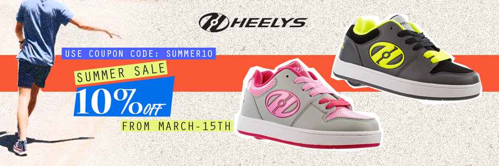 fb290fa03622 The Original Shoes with Wheels for Boys   Girls - Heelys! With removable  wheels in the heel