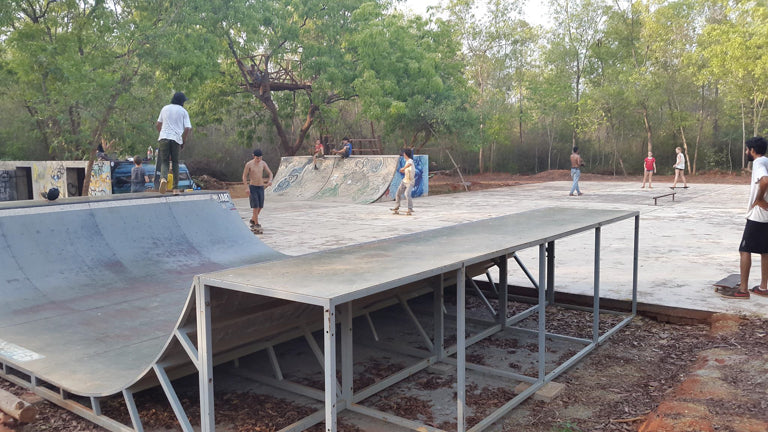 Auroville jungle ramps park active8 sports