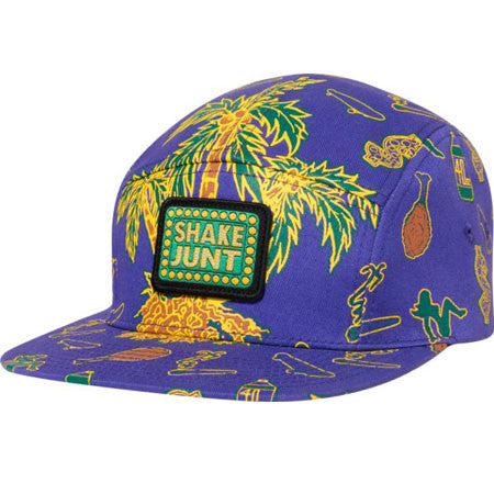 Shake Junt Casual Fridays Purple/Green 5-Panel Adjustable Hat