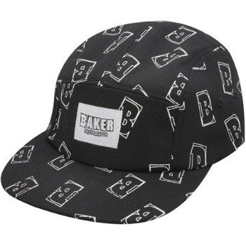 Baker Interstellar Black 5-Panel Adjustable Hat