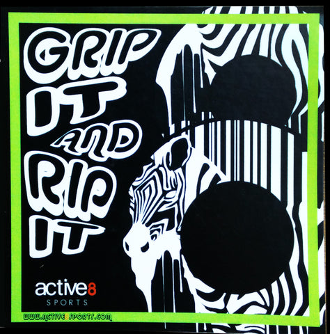 Active8 Grip it to Rip it Sticker (Pack of 3)