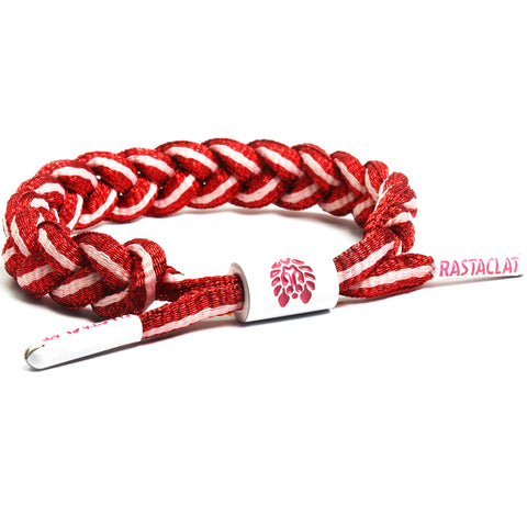 Rastaclat Red Rocket Classic Braided Bracelet