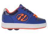 Heelys Cement Royal/Navy/Orange 2 Wheel Roller Shoes