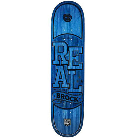 "Real Brock Timber LowPro 8.38"" Skateboard Deck"