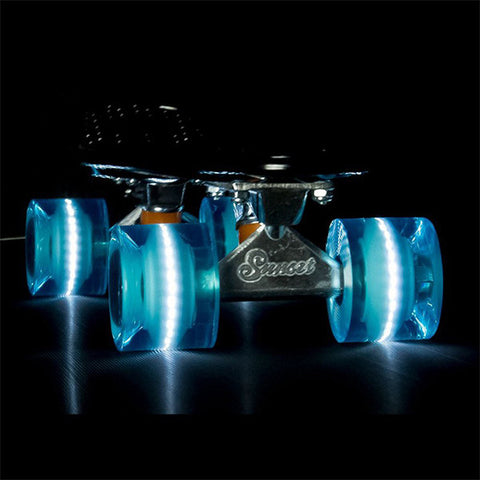Sunset Skateboards Aqua 78A 59mm LED Cruiser Wheels