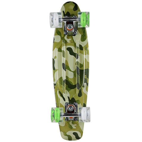 "Sunset Skateboards Camo Painted 22"" Complete Cruiser"