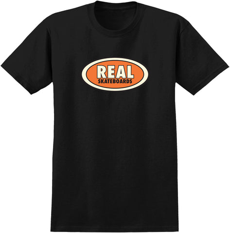 Real OG Oval Black T-Shirt