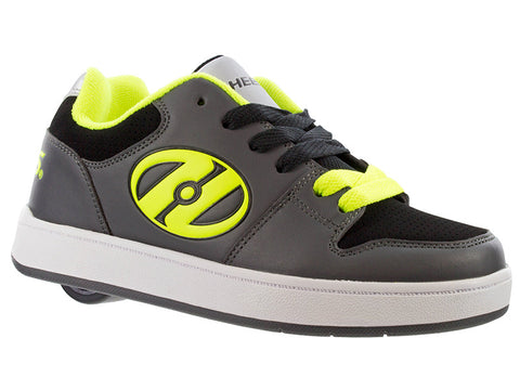 Heelys Charcoal/ Yellow 1 Wheel Roller Shoes