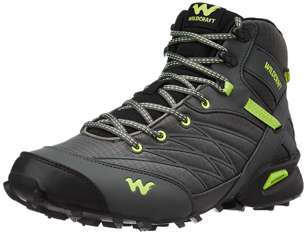 Wildcraft Men's Hugo Black & Green Trail Running Shoes