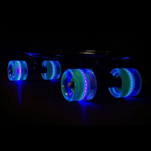 Sunset Skateboards Blacklight 78A 59mm LED Cruiser Wheels
