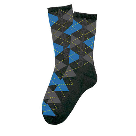 Anti-Hero Ahrgyle Crew Black Socks