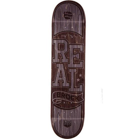 "Real Brock Timber LowPro 8.06"" Skateboard Deck"