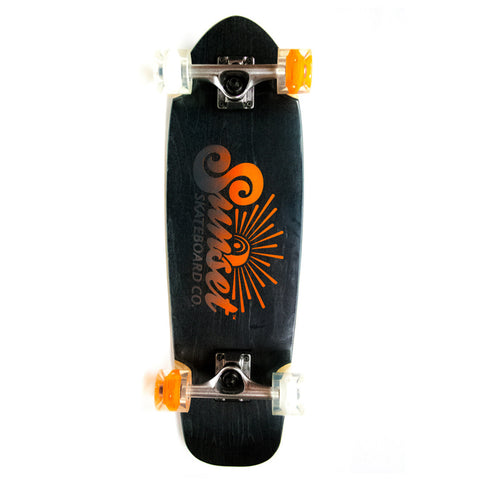 "Sunset Skateboards Mini Cruiser 8.25"" Longboard Cruiser"