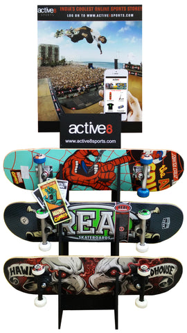 Active8 Skateboard Rack