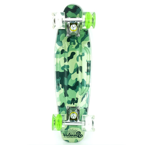 "Sunset Skateboards Camo Grip-Tape 22"" Complete Cruiser"