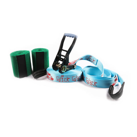 "Project Rockface Slick Slack 2"" Slackline Set"