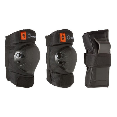 Oxelo Black Junior Protection Kit