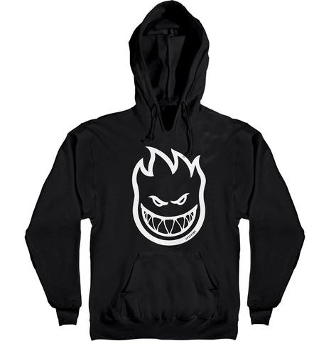 Spitfire Bighead Black / White MD Hooded Sweater