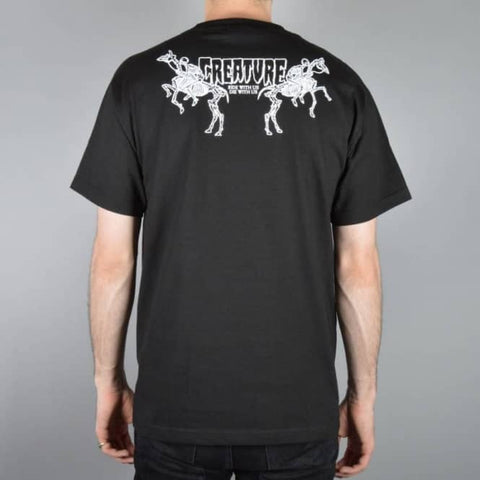 Creature Die With Us Black Men's Short Sleeve T-Shirt