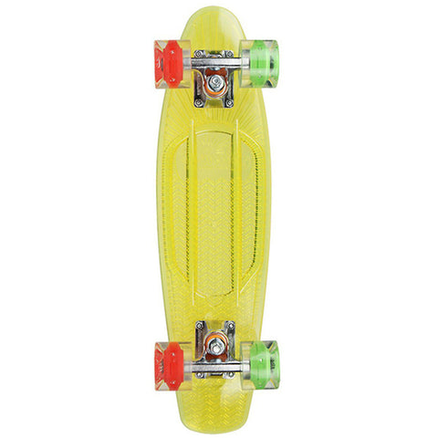 "Sunset Skateboards Rasta 22"" Yellow Complete Cruiser"