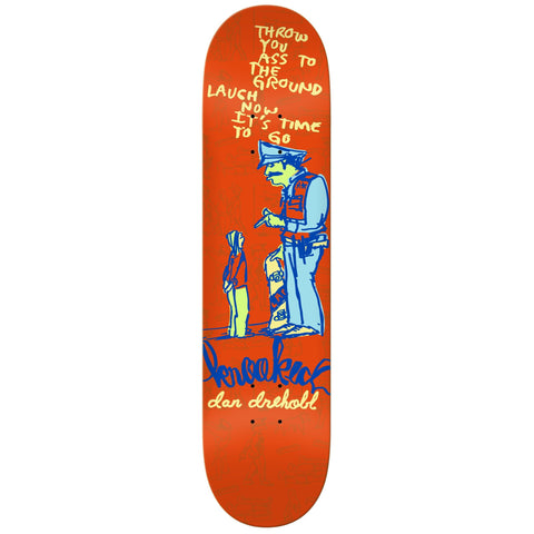 "Krooked Drehobl In Trouble 8.12"" Skateboard Deck"