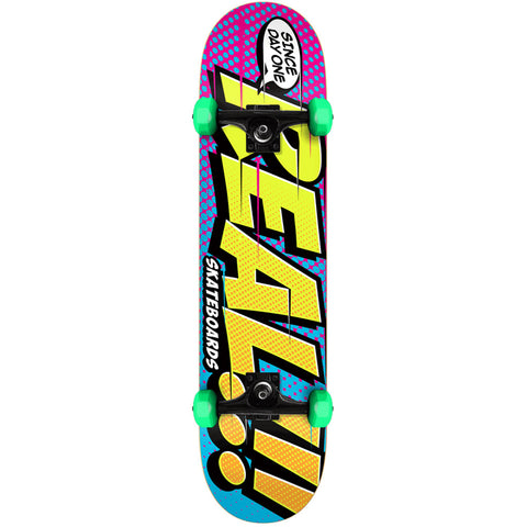 "Real Big Bang Mini 7.3"" Complete Skateboard"